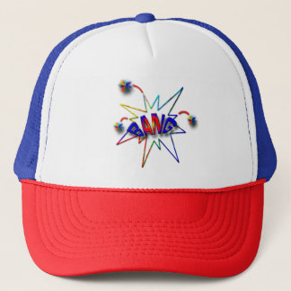 July 4th trucker hat