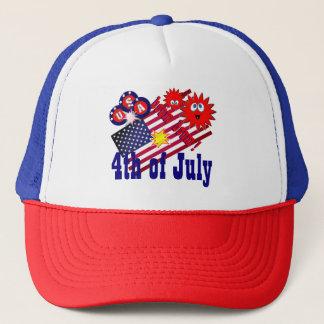 July 4th trucker hat
