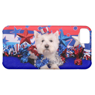 July 4th - Westie - Polo iPhone 5C Covers