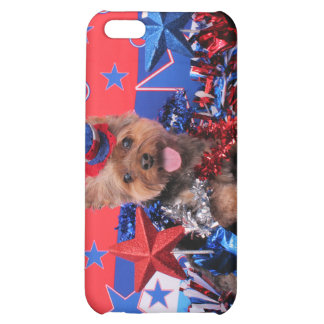 July 4th - Yorkie - Jake iPhone 5C Covers