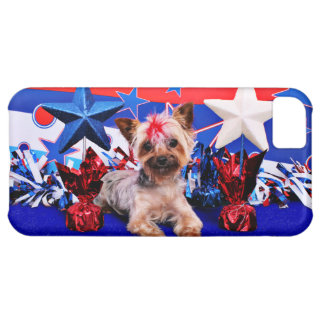 July 4th - Yorkie - Kinsey iPhone 5C Cases