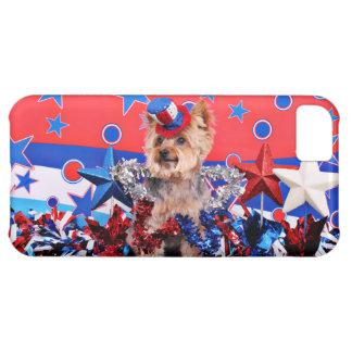 July 4th - Yorkie - Vinnie iPhone 5C Cases