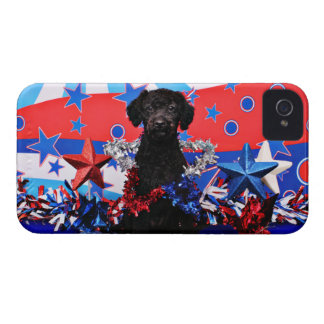 July 4th - YorkiePoo - Max iPhone 4 Covers