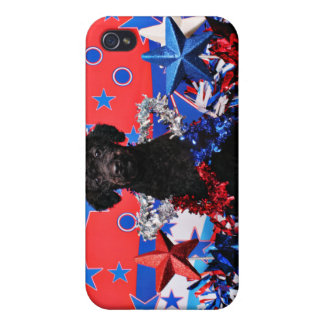 July 4th - YorkiePoo - Max iPhone 4/4S Case