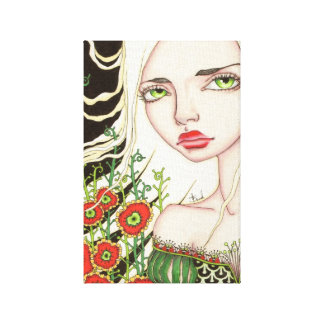 July Stretched Canvas Prints
