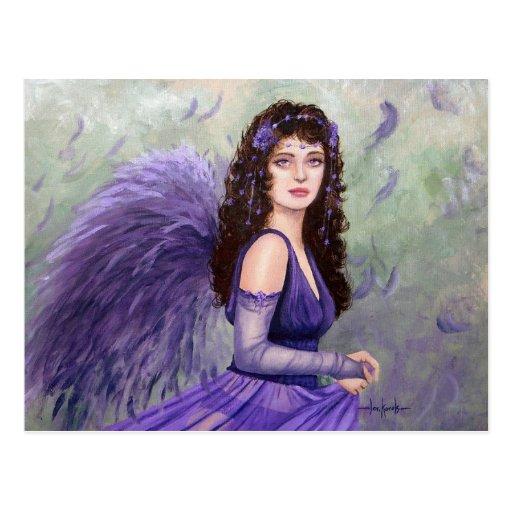 July Fairy by Fantasy artist Lori Karels Post Cards