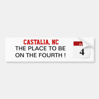 July Fourth Post-It Note Bumper Stickers