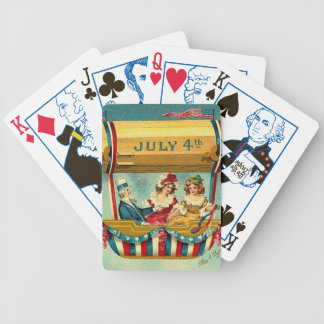 July Fourth Vintage Poker Deck