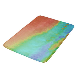 July-Gold-Skies-Impressionistic--HOME-YACHT-Decor Bath Mat