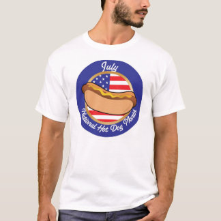 July is National Hot Dog Month T-Shirt
