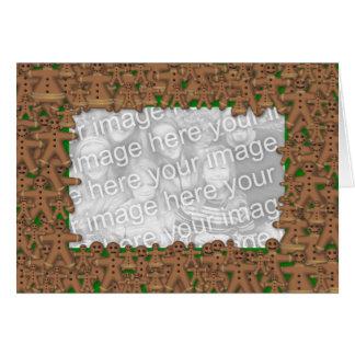 Jumble of Gingerbread Card