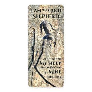 Jumbo Bookmark Jesus Christ The Good Shepherd Card
