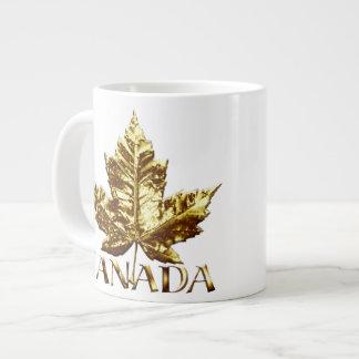 Jumbo Canada Coffee Cup Mug Gold Medal Canada Cup 20 Oz Large Ceramic Coffee Mug