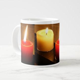 Jumbo Candle Mug 1 red / yellow Jumbo Mug