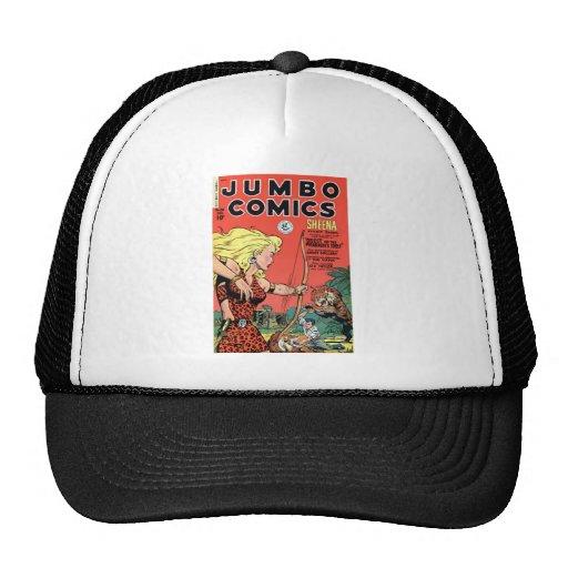 Jumbo Comics Mesh Hats