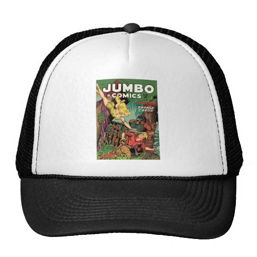 Jumbo Comics No 160 Mesh Hats
