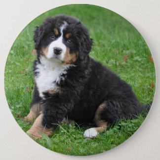 Jumbo custom photo pet pin, love your dog! 6 cm round badge