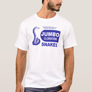 Jumbo Glowworm Fourth of July Snake Fireworks T-Shirt