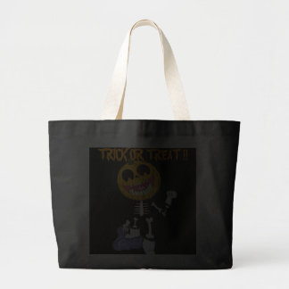 JUMBO HALLOWEEN CANDY BAG s TRICK OR TREAT