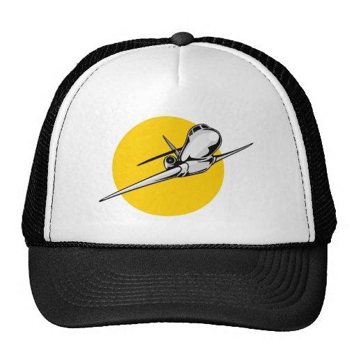 jumbo jet plane airplane aircraft flying flight trucker hats