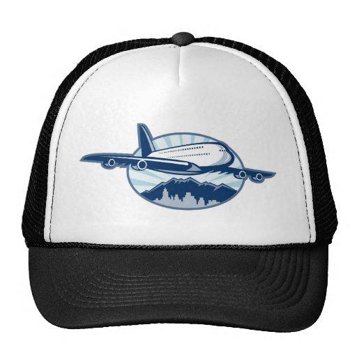 jumbo jet plane airplane aircraft trucker hat