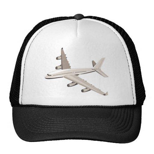 jumbo jet plane airplane aircraft mesh hat