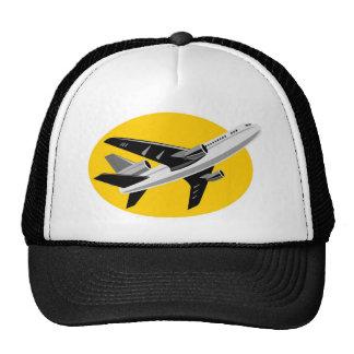 jumbo jet plane airplane aircraft trucker hats