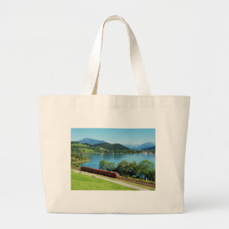 Jumbo jet shopping bag of large Alpsee with