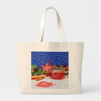 Jumbo jet shopping bag with Christmas motive