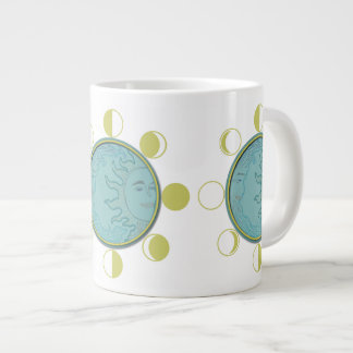 Jumbo MOON PHASES Giant Coffee Mug