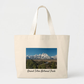 Jumbo Mountain Tote- Grand Teton National Park Large Tote Bag