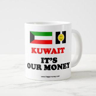 Jumbo mug Kuwait - It's Our Money