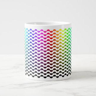 Jumbo Mug Rainbow Half Circles by KoWa