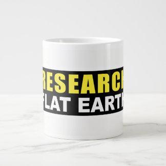 Jumbo Mug Research Fat Earth Design