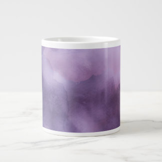 Jumbo Mug - Watercolor Purples