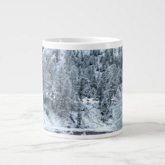 "Jumbo Mug ""Winter Day At Yellowstone"""