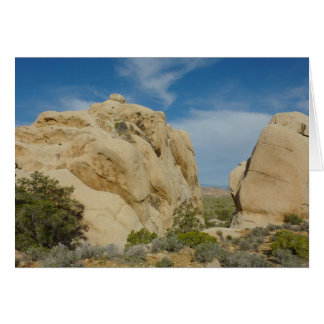 Jumbo Rocks at Joshua Tree National Park Greeting Card