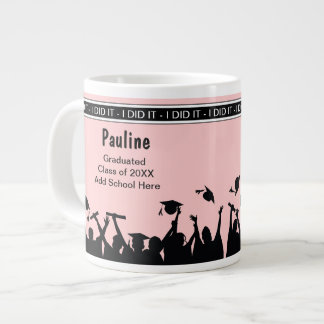Jumbo School Graduation Celebration Mugs Jumbo Mug