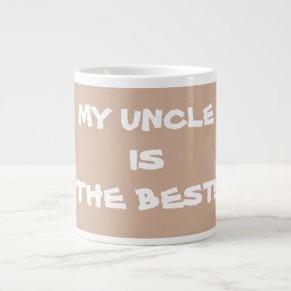 Jumbo size MY UNCLE IS THE BEST Coffee Tea Mugs