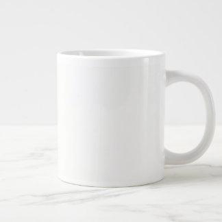 JUMBO Strong, ceramic construction Happy New Year Giant Coffee Mug