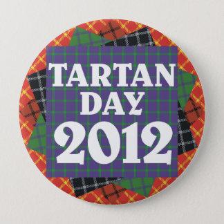 Jumbo Tartan Day 2012 Button