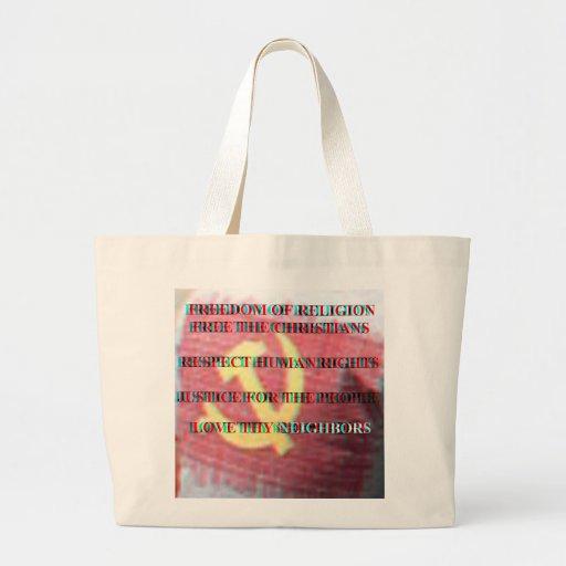 Jumbo Tote Canvas Bag