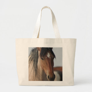 JUMBO TOTE BAG WILD HORSE