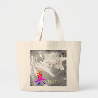 JUMBO TOTE COTTON WITH HUMMINGBIRD COLLAGE
