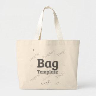 Jumbo Tote Custom Template Bags