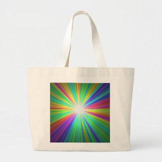 Jumbo Tote rainbow bag by highsaltire