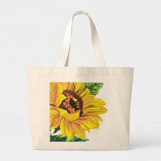 Jumbo Tote- Sunflower Bag