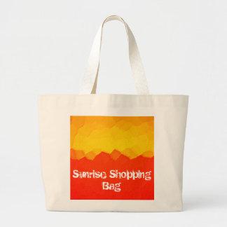 Jumbo Tote Sunrise Shopping Bag