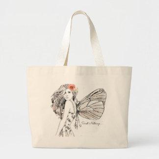 Jumbo Tote - Sweet Nothings Fairy Cream Jumbo Tote Bag