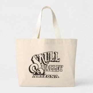 Jumbo Tote w/ Skull Valley, Arizona Logo Jumbo Tote Bag